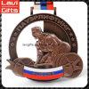 Spitzenverkaufs-Fabrik-Preiskundenspezifische Weightlifting-Medaille