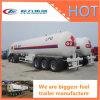 De Hubei Chengli 50000liters de réservoir de carburant remorque semi en vente