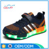 El LED calza para los zapatos ligeros de los zapatos de los deportes de los adultos que contellean LED