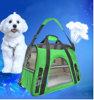 O curso ao ar livre da vaquinha nova do filhote de cachorro do projeto carreg o saco do animal de estimação