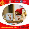 caneca do leite do pequeno almoço do esmalte da capacidade 400ml-14oz/caneca de café