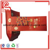 La bolsa de plástico compuesta de aluminio impresa color modificada para requisitos particulares del escudete lateral