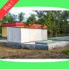 Tratamento da água da efluência da fábrica de tratamento da água de esgoto doméstica