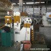 Bobina automatica del metallo tagliata alla riga della macchina di lunghezza