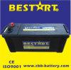 Bateria resistente superior N120-Mf do veículo da bateria do caminhão da qualidade 120ah 24V