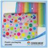 Caja de embalaje de Adorment del embalaje del color plástico del claro