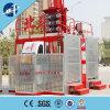 Elevador dobro da construção das gaiolas de México Colômbia Sc200/200