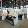 Machine de tonte de plaque métallique de QC12k pour l'acier inoxydable de pendule de feuille
