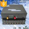 16 canaleta Fiber Optical Video e Data Transmitter & Receiver