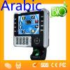 生物測定Iclock2500タッチ画面USBの時間出席
