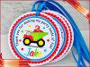 Hang подарка младенца маркирует бирки напечатанные одеждой бумажные