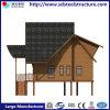70 anni di corso della vita della struttura d'acciaio di villa moderna della costruzione prefabbricata