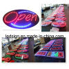 Горячие продавая знаки СИД открытые