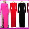 2014 новых горячих сексуальных Hip длинних платья вечера/длиной Sleeve платье