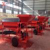 トロンメルスクリーンが付いている小型金の採鉱機械中国製