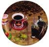 Bandeja redonda de la placa del regalo de la promoción del café
