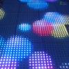 256 Iluminação do Estágio do Diodo Emissor de Luz Dance Floor do Arco-íris do Disco