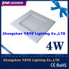 Yaye 105X105mm Square 4W LED Panel Light mit Very Competitive Price
