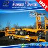 2 Radachsen-Gans-Ansatz-niedriger Flachbettförderwagen-Schlussteil