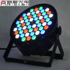 도매 54*3W RGBW 실내 플라스틱 LED 동위