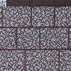 Comitato isolato decorativo della parete esterna del reticolo del mattone