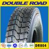 Hochwertiger preiswerter Gummireifen in der China-Fabrik 750r16 825r16 alle Jahreszeit Halb-Stahl Radial-LKW-Reifen