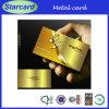 Biglietti da visita promozionali dell'oro di lealtà Metal/Silver