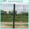 Nylofor 3D V-Shaped Bend Wire Mesh Fence Covered mit Polymer