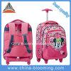 Девушка Trolley Roller Wheeled Rolling Backpack Back к School Bag