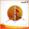 calefator flexível elétrico da película de 140*140mm 12V 15W
