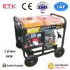 le générateur 5kw avec le diesel industriel fournit le pouvoir fiable