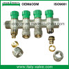 Conception de l'Italie Compression Brass Manifold pour Heat Pipe (AV9062A)