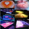 Изготовленный на заказ танцевальная площадка продукта 3D напольная СИД (YS-1508)