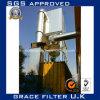 Collettore di polveri industriale del filtro a sacco del filtro a ciclone del filtrante