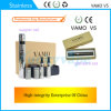 Upgrated Vamo V5 E 담배 (까만 버전! 3 - 15 W)