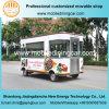 Подгонянная Vending электрическая тележка еды с Ce и сертификатом SGS
