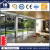Двери сползая стекла патио двойной застеклять конструкции алюминиевые
