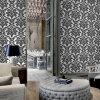 Papier peint intérieur naturel de décor de conception moderne de mosaïque
