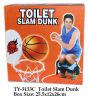 Lustiges Toiletten-Knalldunk-Spielzeug