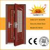 Conception en acier de porte de gril d'Almirah de porte d'armature en métal simple en acier de porte (SC-S034)