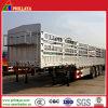 3개의 차축 트레일러 60 톤 반 거위 목 모양의 관 화물 수송기