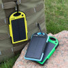 All Mobile Phone를 위한 태양 Power 은행 Dual USB Portable External Solar Energy Battery Charger