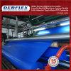 Material del tubo de aire de mina del encerado del PVC