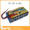 24V 6.6ah LiFePO4 Battery Pack