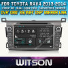 Reprodutor de DVD do carro de Witson para Toyota RAV4 2013-2014 com sustentação do Internet DVR da ROM WiFi 3G do chipset 1080P 8g