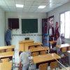 Edificio scolastico modulare del blocco per grafici d'acciaio con il disegno moderno