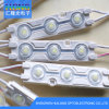 CE / RoHS DC12V Módulo impermeable del LED con la lente