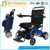 Fauteuil roulant léger électrique en aluminium pour des handicapés