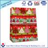 Bolsa de papel que hace compras modificada para requisitos particulares y bolso de compras del papel