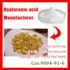 Polvo del ácido hialurónico de la categoría alimenticia, sal del sodio del ácido hialurónico